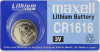 Maxell Lithium Battery CR1616 3V