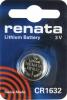 Renata Lithium Battery CR1632  3V