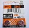 Maxell Alkaline Battery LR 43 1.5V