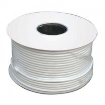 RG6 Satellite Aerial Cable 100m Roll White