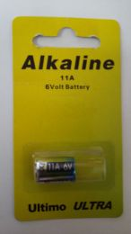Ultimo Ultra Alkaline Battery 11A, 6V   E11, GP11, L1016, A11, LR-11