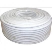 50m RG6 Coaxial Satellite/Aerial Cable White