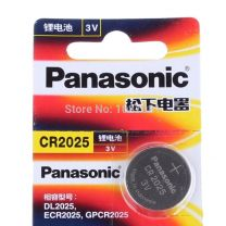 Panasonic Lithium Battery CR2025 3V  CR2025, DL2025, KCR2025, LM2025.