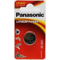 Panasonic CR2032 3V lithium Power battery, CR2032, DL2032, BR2032, KCE2032, LM2032.