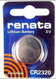 Renata Lithium Battery CR2320  3V,   547-038, 547-038-ND, CR2320VP, N038