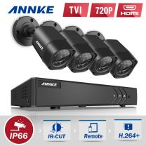8 Channel Annke DVR Kit with 4 Bullet Cameras