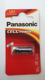 Panasonic Micro Alkaline Battery  LR1  1.5V ,  MN9100, R1, N, LADY, 4901, E90, AM5, 910A