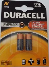 Duracell Alkaline MN9100  1.5V  (2 Pack),  LR1, E90, N, MN9100, 810-2, AM5, 4001 / 4901, 910A
