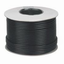 RG6 Satellite Aerial Cable 100m Roll Black
