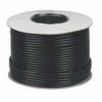 RG6 Satellite Aerial Cable 100m Roll Black