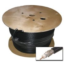 RG6 Satellite/Aerial Cable 250m Black